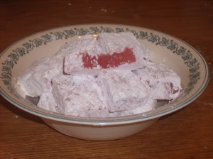 Turkish Delight - Chronicles of Narnia